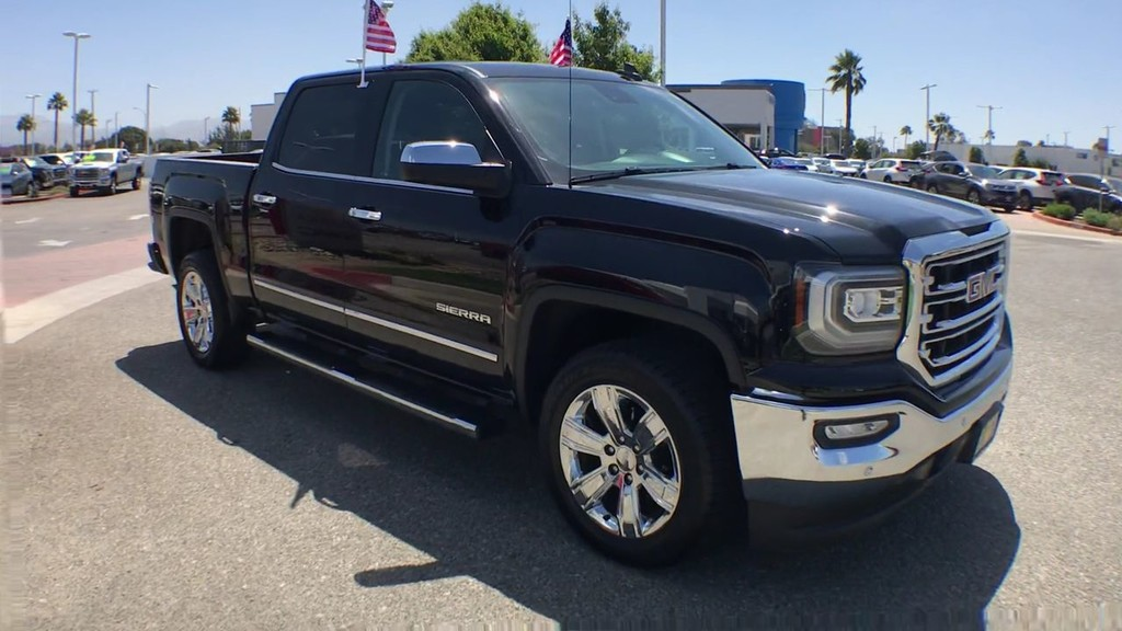 2018 GMC Sierra 1500 Crew Cab SLT Pickup 5 3/4 ft