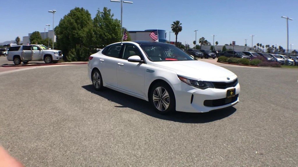 2017 Kia Optima Hybrid EX Sedan