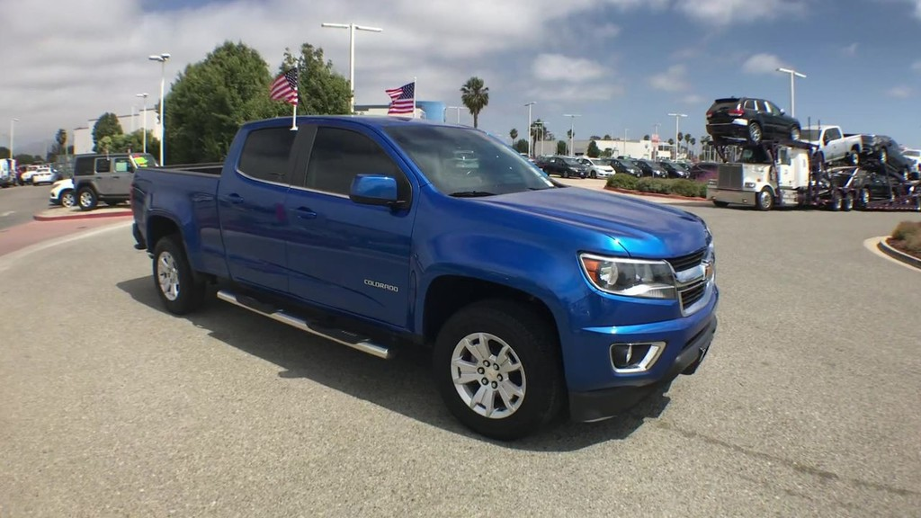 2018 Chevrolet Colorado Crew Cab LT Pickup 5 ft